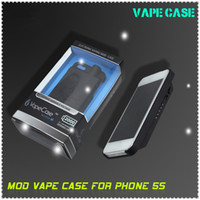 Black Lotus vape case 2000mah Top Sales 510 & ego thread Lotus Vape Case for Iphone 5&5S iphone case 2000mah vapecase VS snoop dogg g pen vaporizer in stock