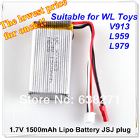 Wholesale pieces WLtoys V913 battery7 V mAh S C Lipo Battery For L959 L979 WD RC Hobby Buggy car Spare Parts Accessory
