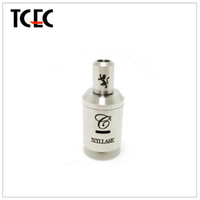 Replaceable 3.0ml Metal High Quality Stilare Stainless Steel Atomizer PK Omega Nimbus Patriot Clearomizer fit for Mechanical Mod Caravela King Nemesis Chiyou Mod
