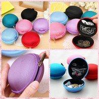 Wholesale Hot New Women Kids Oval Mini Coin Ellipse Personality Canvas Clutch Bag Wallets headphones Purses Fashion Wallets Handbag