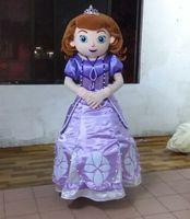 Mascot Costumes Unisex Costum Made mb007 Good ventilation princess sofia mascot costume