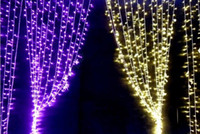 Wholesale 2014 LED lights m Curtain Lights Christmas ornament light Flash Colored Fairy wedding Decoration Christmas day Lamps