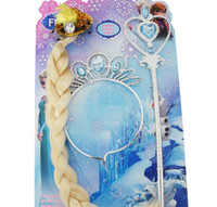 Wholesale New Frozen Princess Anna Elsa Magic Wand Tiara Combo Set