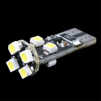 Wholesale T10 W5W CANBUS SMD LED Car Side Wedge Light Lamp car tail lights Decode