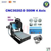 New cnc milling machine - Free ship CNC3020Z D W axis with ball screw Engraving Machine CNC Router CNC Milling Machine