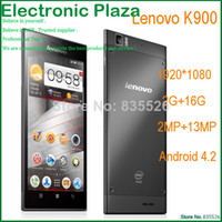 Cheap Dual Core Lenovo K900 Best Android with WiFi Original Lenovo K900