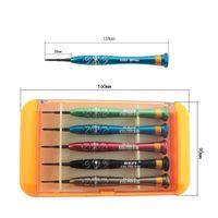 Wholesale 5 in Precision Screwdriver Disassemble Repair Tools Kit for iPhone Mobile Phone Laptop BEST S H10217