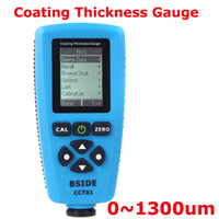 Wholesale Digital Coating Thickness Gauge Meter USB Auto F N Probe Tester um mils um Resolution Graphical Menu H10273