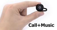 Universal black white silver black+white yes Mini Stereo Bluetooth Headphone Earphone(Music+Call) In Retai box Small Stereo Bluetooth Headset noise isolation 4 color