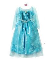 Cheap Casual Dresses elsa dress Best Round Floor Length gown costume