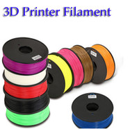 Wholesale 10 Colors Plastic mm mm ABS PLA D Printer Filament welding rods for Makerbot Mendel Prusa Huxley BFB series