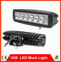 Wholesale Hot Sale W CREE LED Work Light Off Road Lights Fog Driving Lamp Spot Beam For Truck SUV Boat X4 WD ATV UTE