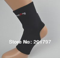 Wholesale Free Shiping Neoprene adjustable ankle protector ankle support ankle brace ankle pads
