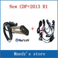 Code Reader For BMW PW 2013.R1 TCS CDP PRO plus keygen with Bluetooth+ for Cars & Trucks 2 in 1+ full set 8 cables of car for TCS CDP PRO