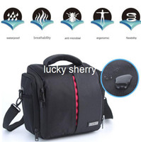 Shoulder Bags Nylon Waterproof New Waterproof Camera Case Bag for Canon DSLR EOS 650D 600D 550D 500D 450D 40D 50D 60D 70D 5D 7D with RainCover