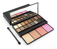 Wholesale HOT Makeup Set color eye shadow plate color blush g gift