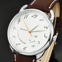 Men's Wristwatches Yes 2014 New Fashion CURREN Brand Men Wristwatches Leather Strap Clocks Japan Movement Quartz Watches Men Dress Relogio Hours 8147