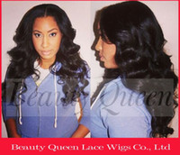 Brazilian Hair Black Wig,Half Wig Free Shipping Cheap Price 100% Brazilian Virgin Human Hair Silk Top Lace Front Wig Tangle free and No shedding