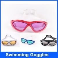 adult swim games - HOT Sale Electroplating PC Plating Swim Goggles Anti fog Waterproof Anti UV Swim Goggles Swimming Games For Adult Goggles