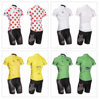 Wholesale 2014 Style Tour de France Cycling jersey Collections Outdoor Cheap Bicycle wear short sleeve Bicycle Clothing shirt Bib Pants Bike Wear