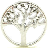 Charms tree jewelry charms - NEW sales Floating Charm Origami Owl quot Tree quot Window Plate Silver Suitable mm Locket Jewelry pendants