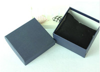 watch boxes wholesale - Paper Watch Box with Soft pillow Paper Gift Boxes Case For Bangle Jewelry or Watch colors