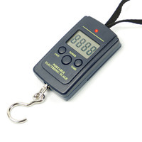 <50g D0272  Free Shipping 40kg 88Lb 1410oz Portable Mini Electronic Digital Scale Hanging Fishing Hook Pocket Weighing Scale