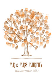 Wholesale Wedding Decoration Customized Wedding Fingerprint Tree Guestbook Personalize Wedding Gifts Wedding and Party Supplies