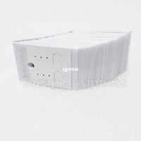 Wholesale Hot Selling White Paper Earrings Jewelry Display Hanging Cards Tags MOUK T801