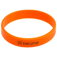 Wholesale custom color print texts amp logo rubber wristbands P110039 silicone bracelet for events amp promotion gift