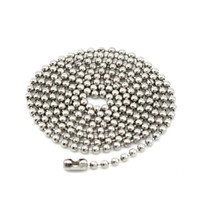 Chains Celtic Gift Chains Necklace Stainless Steel Ball Beads Ball Men Women Chains Necklace Jewelry 50PCS LOT Free Shipping