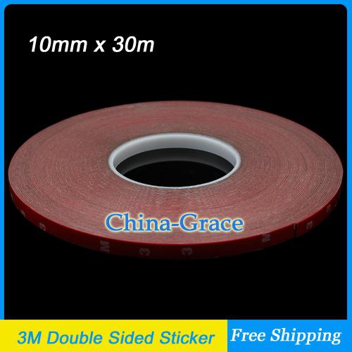 3m Double Sided Tape 30m X 10mm Acrylic Foam Adhesive Car