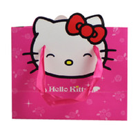 Thanksgiving Event & Party Supplies,Animal Three-piec Yes Best selling and popular 10pcs lot 22*17+10cm,hello kitty paper bags with handle rope birthday paper bags