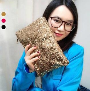Purse Ladies Hand Bag Sequins Fashion Handbag Clutch