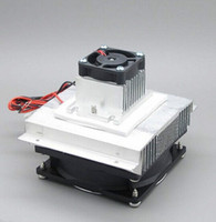 Wholesale x Thermoelectric Refrigeration Cooling System fan DIY Kit with Peltier TEC1