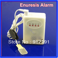 18680 without orginal packing 8cm x 5cm x2.3cm Free Shipping 3 in 1 Adult Baby Bedwetting Enuresis Urine Bed Wetting Alarm +Sensor With Clamp
