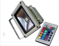 Wholesale 10W Waterproof Floodlight Landscape Lamp RGB LED Flood Light Outdoor LED Flood Lamp Wiht Controller