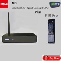 Wholesale Mele F10 Pro Mele M8 Allwinner A31 Quad Core GPU GB GB K HD Metro Google TV Android Wifi Mini PC TV Box XBMC
