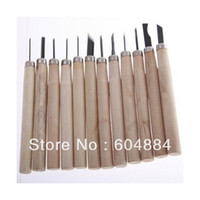 Assembly Tools New Woodworking Wholesale-407-Free Shipping! New Sale Wooden Mini Carving Hand Chisels Tools Kit For Carpenters Wood Turners 5Sets