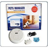 Wholesale Wireless Dog Fence System Pet Animal training Collar Rechargeable Lightning Dog Training Pet Fencing System E03