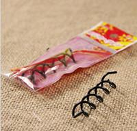 spiral hair pin - Spiral Spin Screw Pin Hair Clip Hairpin Twist Barrette Black hair accessories Plate Made Tools B Magic Hair SCROO Bridal Styling Accessories