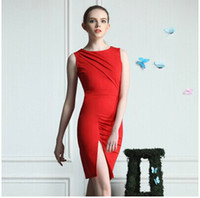 2014 Fashion Dresses Runway style One piece bodycon short Dr...