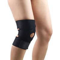 Wholesale New HQ Spandex Elastic Knee Pads Support Outdoor Sports Basketball Hiking Knee Brace Protector Leg Sleeve