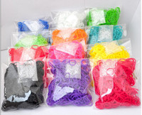 Link, Chain Other Children's Rainbow Loom Kit DIY Wrist Bands Rainbow Loom Bracelet for kids (600 pcs bands + 24 pcs C-clips ) 13 Colors ship by DHL or FedEx is free