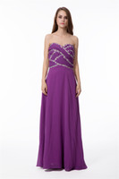 Model Pictures Sweetheart Chiffon New arrival- Free shipping beautiful sweetheart evening dresses fancy chiffon evening gown