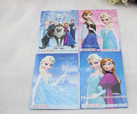 Wholesale Hot Sale New Children Small One Decals Kids Tags Elsa Anna Olaf Sticker Fancy Drawing Books Frozen Cartoon Coloring Book