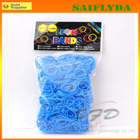Cheap Unisex loom bands Best 5-7 Years mix colors  rainbow loom