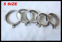 Wholesale New Stainless Steel Cock Ring For Chastity Crafts Metal Male Chastity Device Male Cock cage parts Ring
