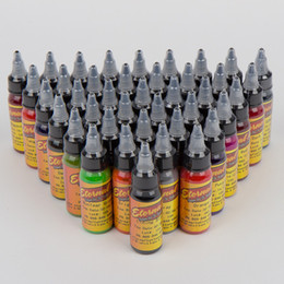 Wholesale Pro Colors Tattoo Inks OZ Set Tattoo Pigment ML Supply For Ink Needles Kits Tattooing