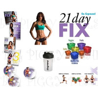 Wholesale PRE Fitness dvd Day Fix Nutrition Buddy Factory Price Day Fix workout dvd Complete Box Set DHL